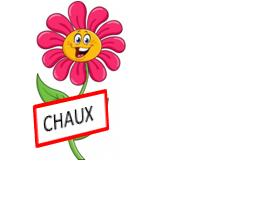 Logo officiel fleurissement Chaux